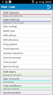 Shift Wage Planer 5