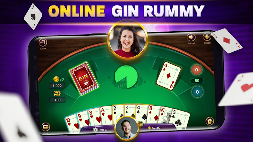 Gin Rummy Online - Free Card Game apkmartins screenshots 1