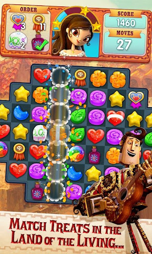 Sugar Smash: Book of Life - Free Match 3 Games. 3.105.207 screenshots 1