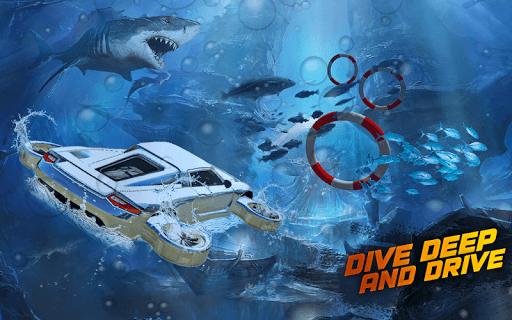 Underwater Flying Car Game 1.0.2 screenshots 21