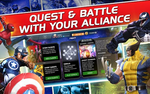 Marvel Contest of Champions MOD (unlimited Units) 2