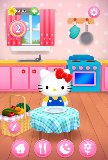 Talking Hello Kitty - Virtual pet game for kids screenshot 4