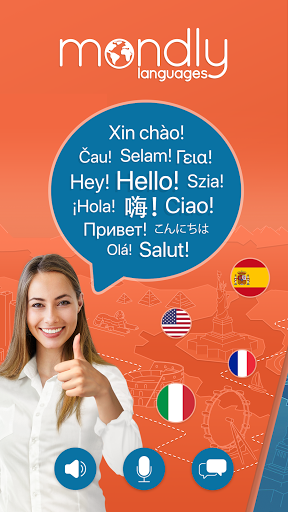 Learn 33 Languages Free - Mondly 7.9.0 Screenshots 1