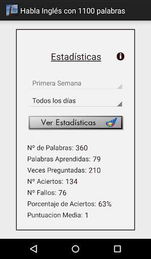 Habla Inglés con 1100 palabras 1.4 screenshots 4