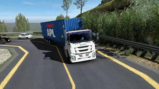 Euro intercity Transport Truck Similator 2021 apkdebit screenshots 1