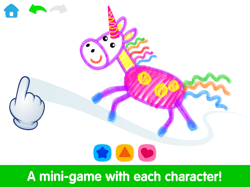 Toddler Drawing Academyud83cudf93 Coloring Games for Kids android2mod screenshots 12