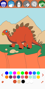 Dinosaur Dino Coloring Book for toddlers