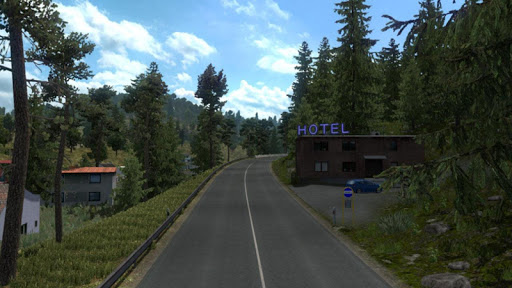 Euro intercity Transport Truck Similator 2021 apkdebit screenshots 6