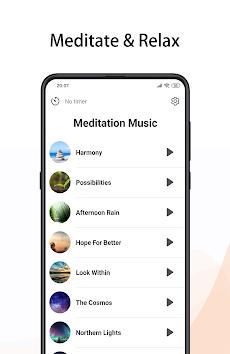 瞑想音楽プロ - 瞑想アプリ、ヨガ 音楽、ヨガ瞑想のおすすめ画像1