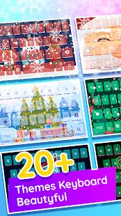 Color Keyboard, Christmas Keyboard 2019