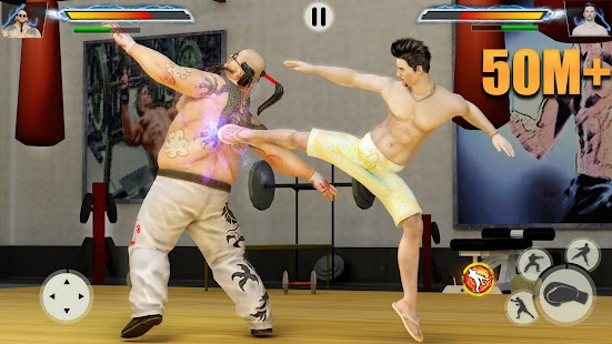GYM Fighting Games: Bodybuilder Trainer Fight PRO Screenshot