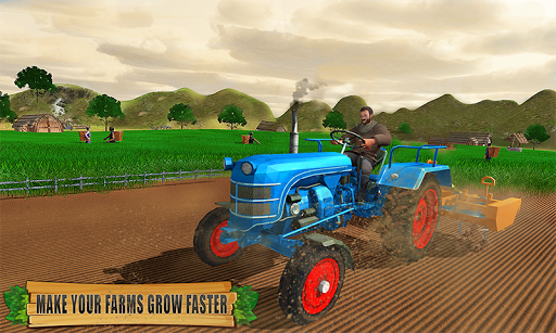 Farming Tractor Driver Simulator : Tractor Games android2mod screenshots 1