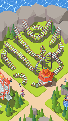 Coaster Builder: Roller Coaster 3D Puzzle Game 1.3.5 screenshots 10