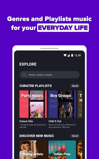 Free Music Streaming: Trending for Tube Music Song  screenshots 12