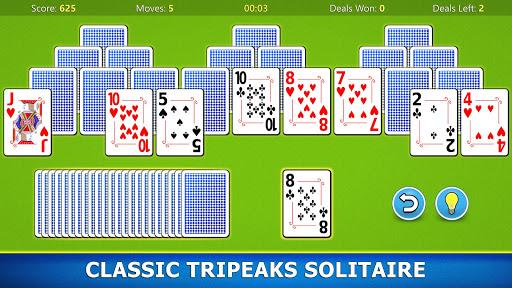 TriPeaks Solitaire Mobile Apkfinish screenshots 9