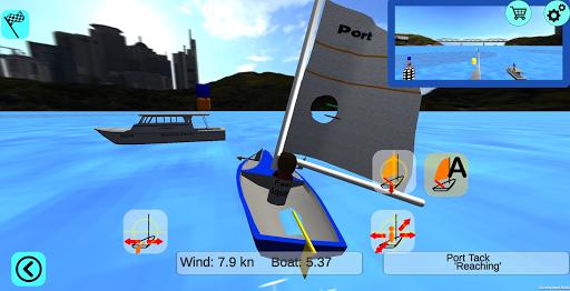 3d sailing simulator, 2sail, screenshot 3