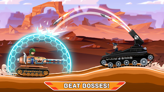 Hills of Steel APK (MOD, Unlimited Coins) for Android 4