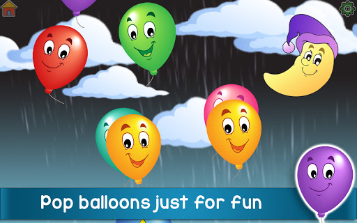 Kids Balloon Pop Game Free ud83cudf88  screenshots 2