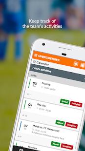 SportMember - Mobile team app