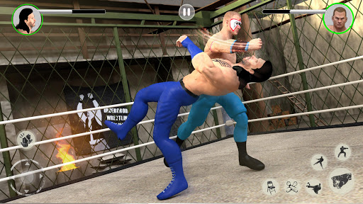 Men Tag Team Wrestling 2019: Fighting Stars Mania 1.0.2 Screenshots 3