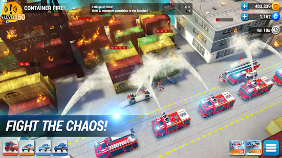 EMERGENCY HQ - firefighter rescue strategy game apk