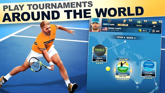 TOP SEED Tennis: Sports Management Simulation Game Mod 2.49.1 Apk [Unlimited Money] 1