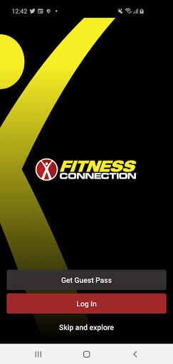 Fitness Connection screenshot 1