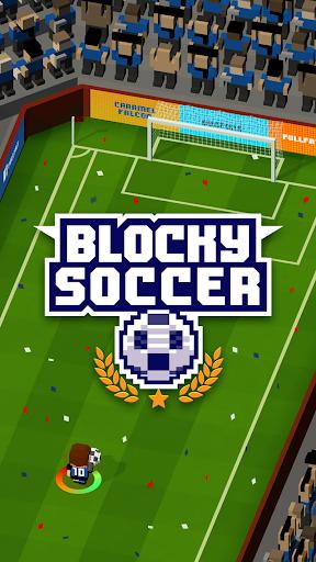 Blocky Soccer apklade screenshots 1