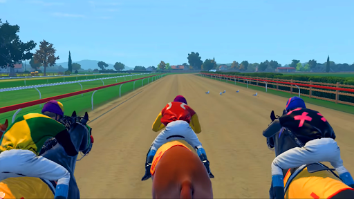 Jumping Horse Racing Simulator 3D  screenshots 2