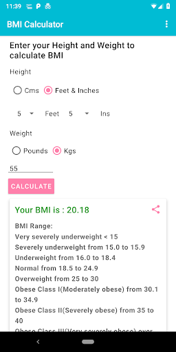 BMI Calculator For PC Windows (7, 8, 10, 10X) & Mac Computer Image Number- 5