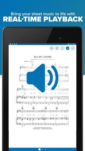 Musicnotes Sheet Music Player modavailable screenshots 17