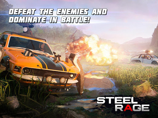 Steel Rage: Mech Cars PvP War, Twisted Battle 2020  screenshots 14