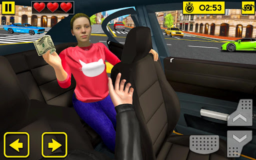 City Taxi Driving Sim 2020: Free Cab Driver Games android2mod screenshots 4