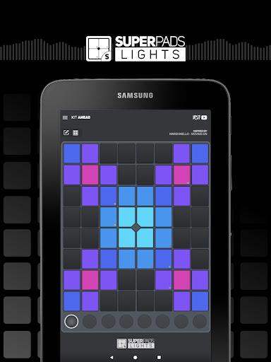 SUPER PADS LIGHTS - Your DJ app  Screenshots 5