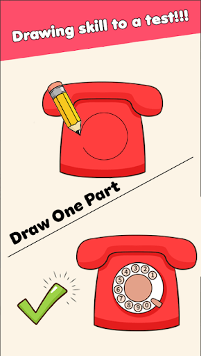 Draw Puzzle - Draw one part 1.0.6 screenshots 3