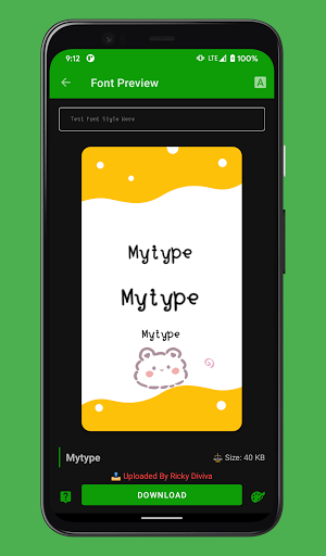zFont 3 - Emoji & Custom Font Changer [No ROOT] 3.1.8 screenshots 2