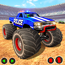 Police Demolition Derby Monster Truck Destruction