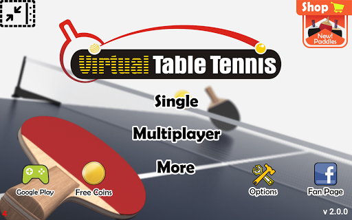 Virtual Table Tennis 2.2.0 screenshots 11