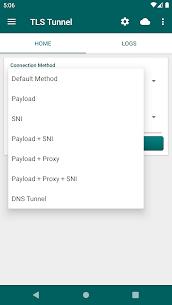 TLS Tunnel APK Son Sürüm -Ücretsiz Ve Sınırsız Vpn (Güncel) 2021 3