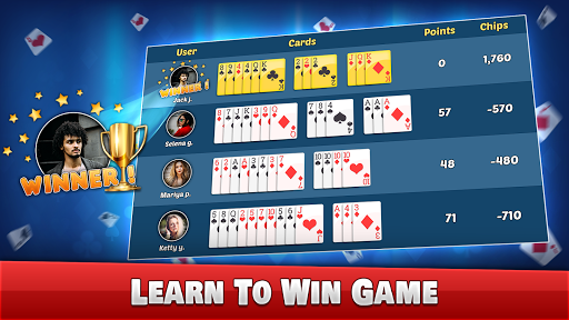 Indian Rummy - Play Rummy Game Online Free Cards 7.7 screenshots 17
