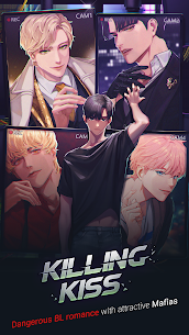 Killing Kiss : BL Story Game Mod Apk 1.0.4 (Free Premium Choices) 1