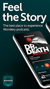 Wondery – Premium Podcast App (MOD APK, Premium) v1.10.0 1