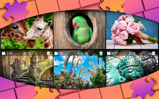 Jigsaw Puzzles Collection HD - Puzzles for Adults  screenshots 2