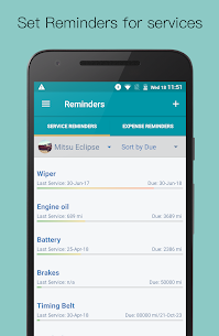 Simply Auto Platinum v41.3 MOD APK – Car Maintenance & Mileage tracker app 4