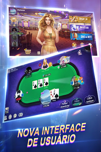 Texas Poker Português (Boyaa) apktreat screenshots 1
