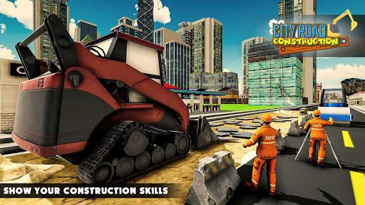 Mega City Road Construction Machine Operator Game 3.9 screenshots 15