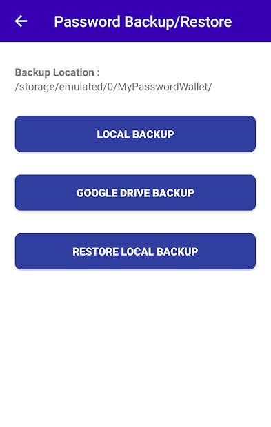 My Password Wallet - Offline Password Manager screenshot 3