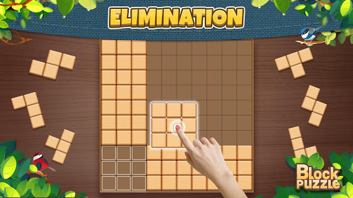 Wood Block Puzzle: Classic wood block puzzle games android2mod screenshots 3