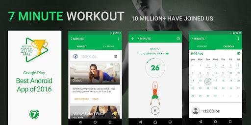 Download APK: 7 Minute Workout v1.363.116 [Pro] [Mod Extra]