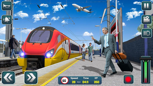 Euro Train Driver Sim 2020: 3D Train Station Games screenshots 2